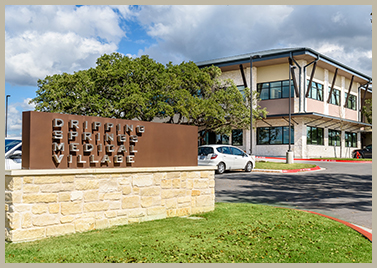 photo of the dripping springs medical village building